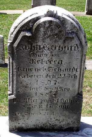 GERHARD, JOHN - Berks County, Pennsylvania | JOHN GERHARD - Pennsylvania Gravestone Photos