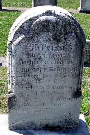 SCHMIDT GERHARD, REBECCA - Berks County, Pennsylvania | REBECCA SCHMIDT GERHARD - Pennsylvania Gravestone Photos