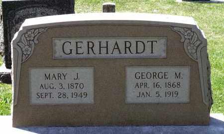 GERHARDT, GEORGE M. - Berks County, Pennsylvania | GEORGE M. GERHARDT - Pennsylvania Gravestone Photos