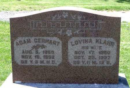 GERHART, LOVINA - Berks County, Pennsylvania | LOVINA GERHART - Pennsylvania Gravestone Photos