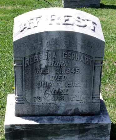 GERHART, REBECCA - Berks County, Pennsylvania | REBECCA GERHART - Pennsylvania Gravestone Photos