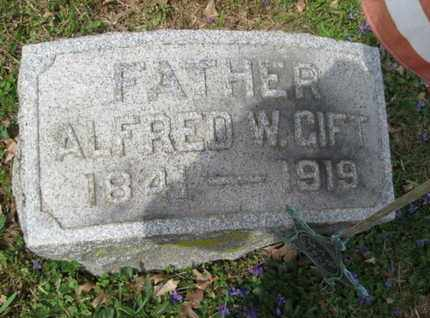 GIFT (CW), ALFRED W. - Berks County, Pennsylvania | ALFRED W. GIFT (CW) - Pennsylvania Gravestone Photos