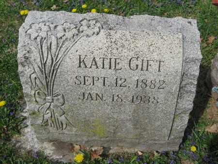 GIFT, KATIE - Berks County, Pennsylvania | KATIE GIFT - Pennsylvania Gravestone Photos