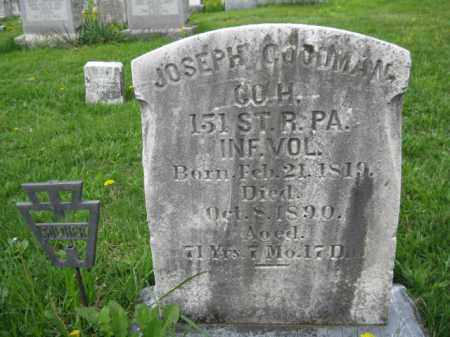 GOODMAN (CW), JOSEPH - Berks County, Pennsylvania | JOSEPH GOODMAN (CW) - Pennsylvania Gravestone Photos