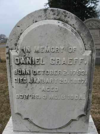 GRAEFF, DANIEL - Berks County, Pennsylvania | DANIEL GRAEFF - Pennsylvania Gravestone Photos