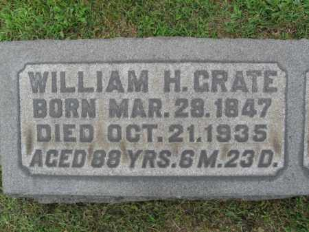 GRATE, WILLIAM H. - Berks County, Pennsylvania | WILLIAM H. GRATE - Pennsylvania Gravestone Photos