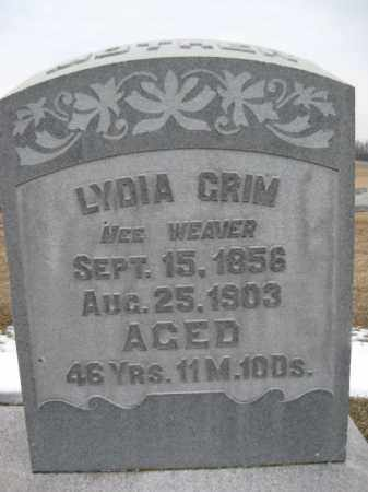 GRIM, LYDIA - Berks County, Pennsylvania   LYDIA GRIM - Pennsylvania Gravestone Photos