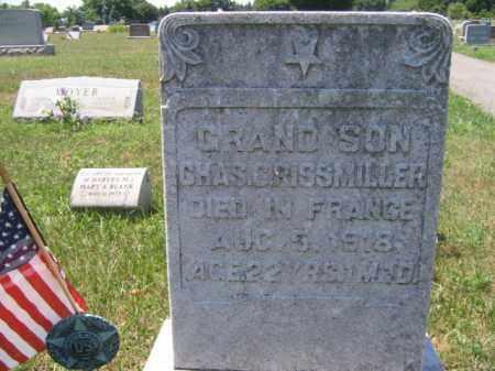 GRISSMILLER, CHARLES - Berks County, Pennsylvania | CHARLES GRISSMILLER - Pennsylvania Gravestone Photos
