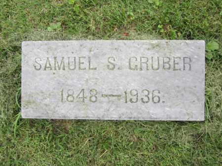 GRUBER, SAMUEL S. - Berks County, Pennsylvania   SAMUEL S. GRUBER - Pennsylvania Gravestone Photos