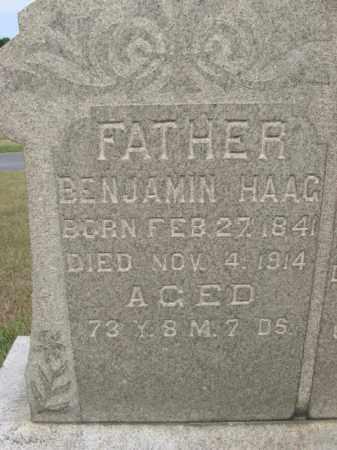 HAAG, BENJAMIN - Berks County, Pennsylvania | BENJAMIN HAAG - Pennsylvania Gravestone Photos
