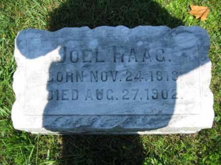 HAAG, JOEL - Berks County, Pennsylvania | JOEL HAAG - Pennsylvania Gravestone Photos