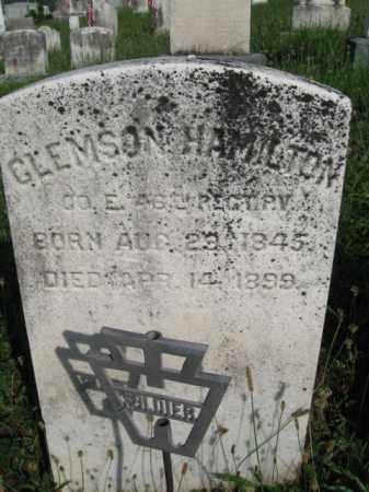 HAMILTON (CW), CLEMSON - Berks County, Pennsylvania | CLEMSON HAMILTON (CW) - Pennsylvania Gravestone Photos