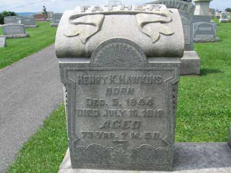 HAWKINS, HENRY K. - Berks County, Pennsylvania | HENRY K. HAWKINS - Pennsylvania Gravestone Photos