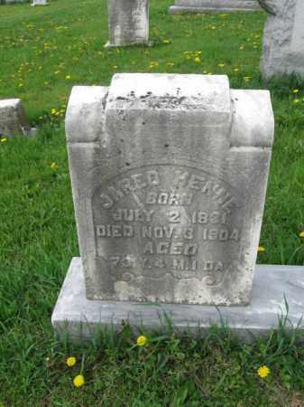 HENNE, JARED - Berks County, Pennsylvania | JARED HENNE - Pennsylvania Gravestone Photos