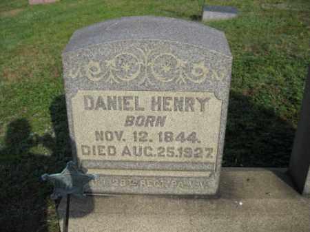 HENRY (CW), DANIEL - Berks County, Pennsylvania   DANIEL HENRY (CW) - Pennsylvania Gravestone Photos
