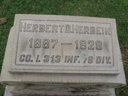 HERBINE (WW I), HERBERT D. - Berks County, Pennsylvania | HERBERT D. HERBINE (WW I) - Pennsylvania Gravestone Photos