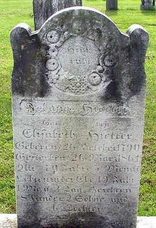 HIETTER, JOHANES - Berks County, Pennsylvania | JOHANES HIETTER - Pennsylvania Gravestone Photos