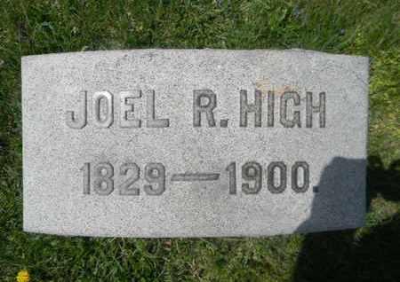 HIGH, JOEL R. - Berks County, Pennsylvania   JOEL R. HIGH - Pennsylvania Gravestone Photos