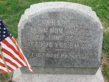 HILL (CW), CONRAD - Berks County, Pennsylvania | CONRAD HILL (CW) - Pennsylvania Gravestone Photos