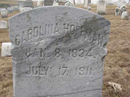 HOFFMAN, CAROLINA - Berks County, Pennsylvania   CAROLINA HOFFMAN - Pennsylvania Gravestone Photos