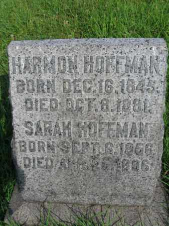 HOFFMAN (CW), HARMAN - Berks County, Pennsylvania   HARMAN HOFFMAN (CW) - Pennsylvania Gravestone Photos