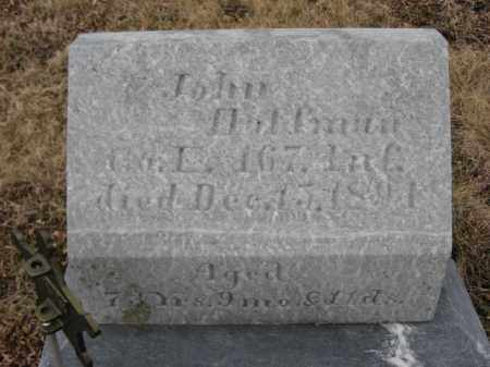HOFFMAN (CW), JOHN - Berks County, Pennsylvania | JOHN HOFFMAN (CW) - Pennsylvania Gravestone Photos