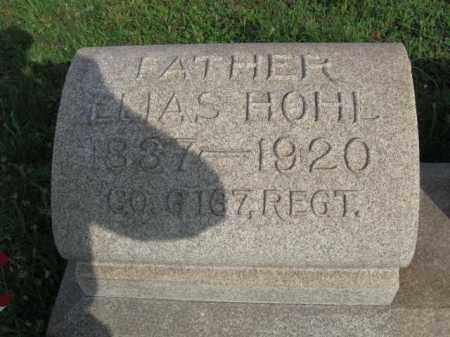 HOHL (HOLE) (CW), ELIAS - Berks County, Pennsylvania | ELIAS HOHL (HOLE) (CW) - Pennsylvania Gravestone Photos