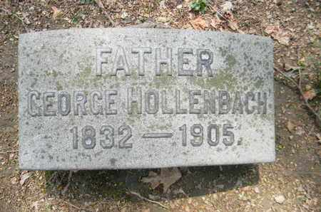 HOLLENBACH, GEORGE - Berks County, Pennsylvania | GEORGE HOLLENBACH - Pennsylvania Gravestone Photos