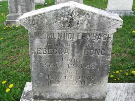 HOLLENBACH, SOLOMON - Berks County, Pennsylvania | SOLOMON HOLLENBACH - Pennsylvania Gravestone Photos