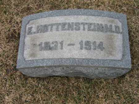 HOTTENSTEIN, E. - Berks County, Pennsylvania | E. HOTTENSTEIN - Pennsylvania Gravestone Photos