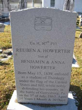 HOWERTER (CW), REUBEN A. - Berks County, Pennsylvania | REUBEN A. HOWERTER (CW) - Pennsylvania Gravestone Photos