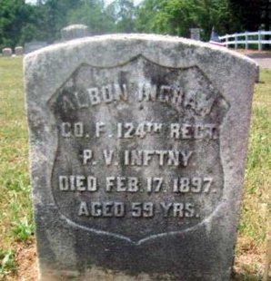 INGRAM (CW), ALBION - Berks County, Pennsylvania   ALBION INGRAM (CW) - Pennsylvania Gravestone Photos