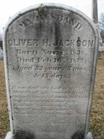 JACKSON, OLIVER  H. - Berks County, Pennsylvania | OLIVER  H. JACKSON - Pennsylvania Gravestone Photos
