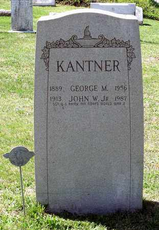 KANTNER, JOHN W. JR. - Berks County, Pennsylvania | JOHN W. JR. KANTNER - Pennsylvania Gravestone Photos