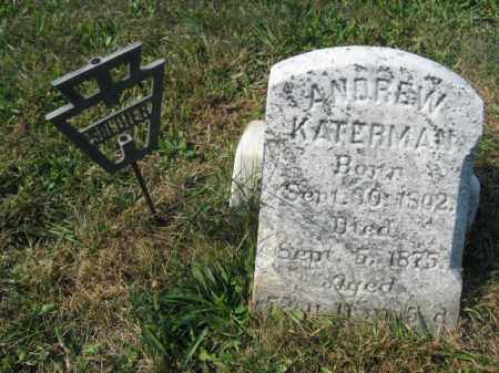 KATERMAN, ANDREW - Berks County, Pennsylvania | ANDREW KATERMAN - Pennsylvania Gravestone Photos