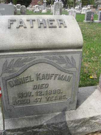 KAUFFMAN (CW), DANIEL - Berks County, Pennsylvania | DANIEL KAUFFMAN (CW) - Pennsylvania Gravestone Photos