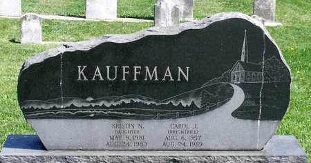 BRIGHTBILL KAUFFMAN, CAROL J. - Berks County, Pennsylvania | CAROL J. BRIGHTBILL KAUFFMAN - Pennsylvania Gravestone Photos