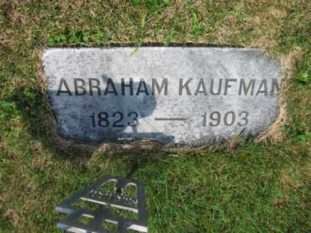 KAUFMAN, ABRAHAM - Berks County, Pennsylvania | ABRAHAM KAUFMAN - Pennsylvania Gravestone Photos