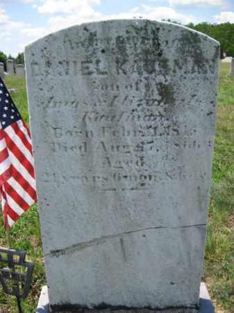 KAUFMAN, DANIEL - Berks County, Pennsylvania   DANIEL KAUFMAN - Pennsylvania Gravestone Photos