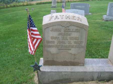 KELLER (CW(), JOHN K. - Berks County, Pennsylvania | JOHN K. KELLER (CW() - Pennsylvania Gravestone Photos