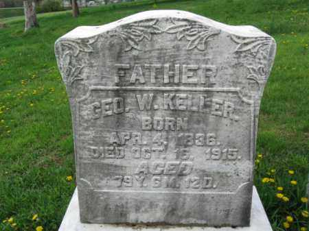 KELLER, GEORGE W. - Berks County, Pennsylvania | GEORGE W. KELLER - Pennsylvania Gravestone Photos