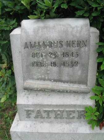 KERN, AMANDUS - Berks County, Pennsylvania | AMANDUS KERN - Pennsylvania Gravestone Photos