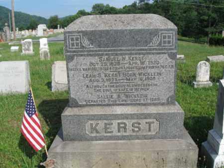 KERST (CW), SAMUEL W. - Berks County, Pennsylvania | SAMUEL W. KERST (CW) - Pennsylvania Gravestone Photos