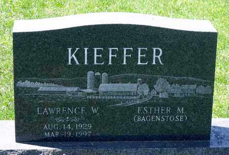 KIEFFER, LAWRENCE W. - Berks County, Pennsylvania   LAWRENCE W. KIEFFER - Pennsylvania Gravestone Photos