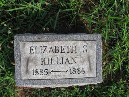 KILLIAN, ELIZABETH S. - Berks County, Pennsylvania   ELIZABETH S. KILLIAN - Pennsylvania Gravestone Photos