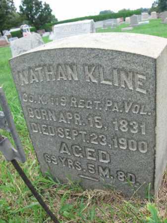 KLINE (CW), NATHAN - Berks County, Pennsylvania | NATHAN KLINE (CW) - Pennsylvania Gravestone Photos