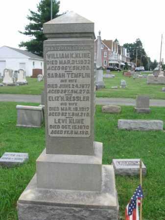 KLINE (CW), WILLIAM K. - Berks County, Pennsylvania   WILLIAM K. KLINE (CW) - Pennsylvania Gravestone Photos