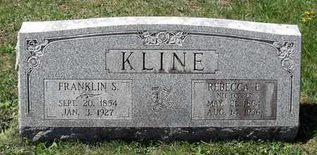 KLINE, REBECCA - Berks County, Pennsylvania | REBECCA KLINE - Pennsylvania Gravestone Photos