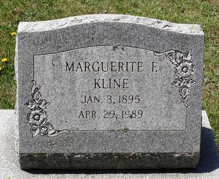 KLINE, MARGUERITE F. - Berks County, Pennsylvania | MARGUERITE F. KLINE - Pennsylvania Gravestone Photos