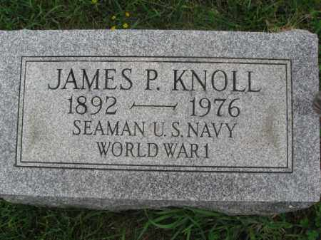 KNOLL (WW I), JAMES P. - Berks County, Pennsylvania   JAMES P. KNOLL (WW I) - Pennsylvania Gravestone Photos